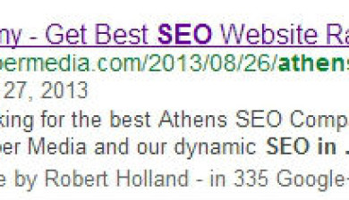 Video SEO Thumbnail Snippet in Google
